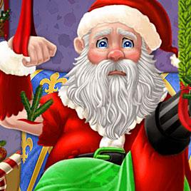 Эльза спасает Деда Мороза