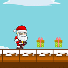 Бегущий Дед Мороз