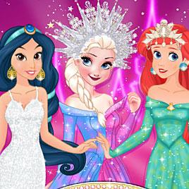 Принцессы Диснея: Конкурс Элегантности