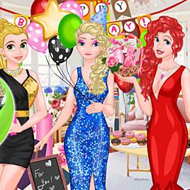 Принцессы Диснея: вечеринка сюрприз для Эльзы