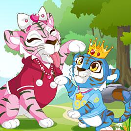 Мама и малышка Тигр