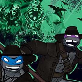 Черепашки ниндзя: монстры против мутантов