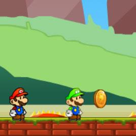 Марио и Луиджи Спасают Принцессу