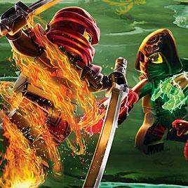 Лего Ниндзяго: Драки Ниндзя