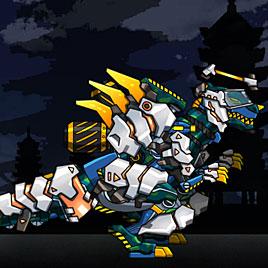 Роботы динозавры: Трансформер солдат Т-Рекс