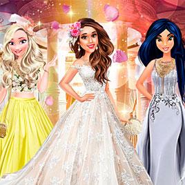Принцессы Диснея: Свадебное платье для Арианы Гранде