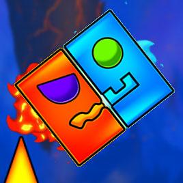 Огонь и Вода Геометрия Даш