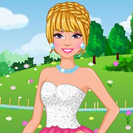 Барби модная весной