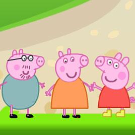 Свинка Пеппа: вышибалы
