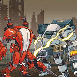 Супер бойцы роботы 3