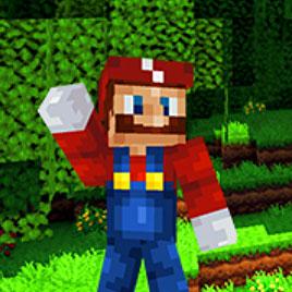 Майнкрафт Супер Марио