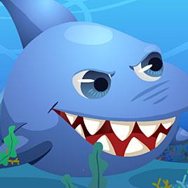 Большая рыба ест маленькую