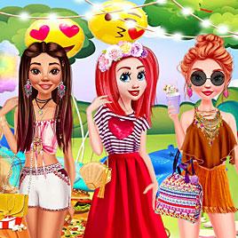 Принцессы Диснея: Вечеринка на заднем дворе