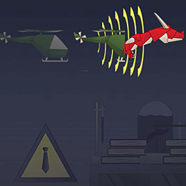 Бумажный самолет: сумасшедшая лаборатория