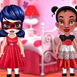 Леди Баг и Тиана: Тесты для детей