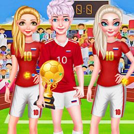 Принцы и Принцессы Диснея на Чемпионате мира по футболу 2018