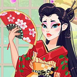 Легендарная мода: Японская гейша