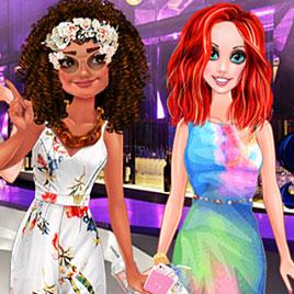 Морские принцессы Диснея: время вечеринки