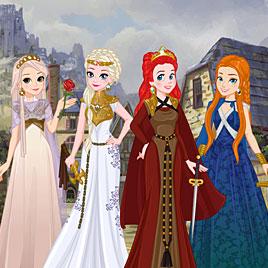 Принцессы Диснея: игры престолов