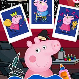 Тату салон Свинки Пеппы