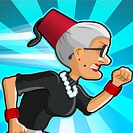 Злая бабушка бежит в Турции