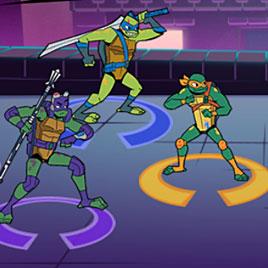 Новые мутанты черепашки ниндзя: городское столкновение