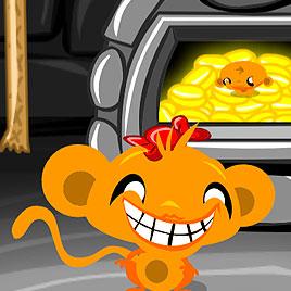 Счастливая обезьянка уровень 195