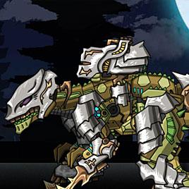 Роботы динозавры: собрать Гиганотозавра