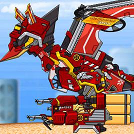 Роботы динозавры: Трицеранодон