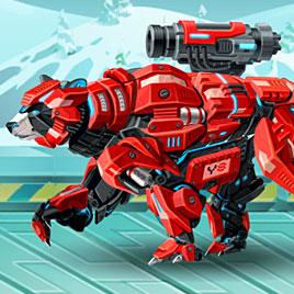 Роботы динозавры: Кибер Медведь