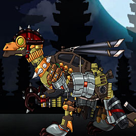 Трансформеры Роботы Динозавры: Троодон