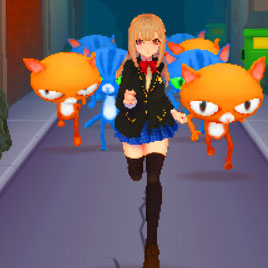 Сабвей Серф аниме: бег принцессы