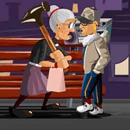 Злая Бабушка против гопников