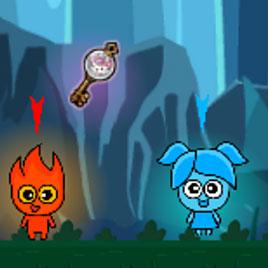 Красный Мальчик Огонь и Синяя Девочка Вода 2