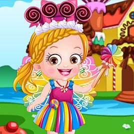 Малышка Хейзел в костюме шоколадной феи