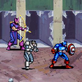 Мстители и Капитан Америка - Captain America and the Avengers (Arcade)