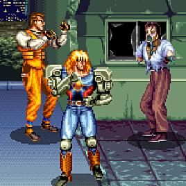 Ночные убийцы - Night Slashers (Arcade)