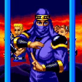 Коммандос-Ниндзя - Ninja Commando (Arcade)