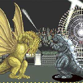 Годзилла - Godzilla (Arcade)