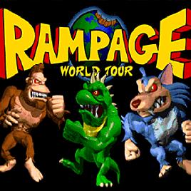 Ярость - Rampage: World Tour (Arcade)