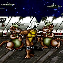 Батлтоадс - Боевые Жабы - Battletoads Arcade