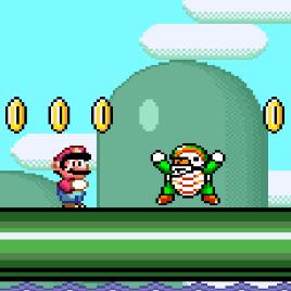 Новое приключение Марио