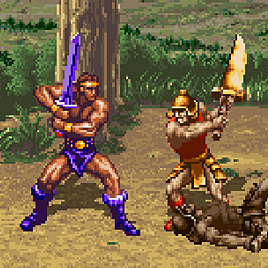 Золотой Топор - Golden Axe: The Revenge of Death Adder (Arcade)