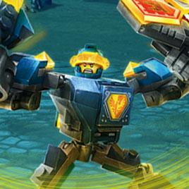Лего Рыцари Нексо: Рейд Каменного Монстра
