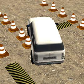 Классическая парковка джипа