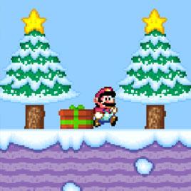 Супер Марио: Новогодняя Версия