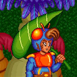 Приключение Блю - Blue's Journey / Raguy (Arcade)