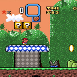 Новые Приключения Супер Марио Колос