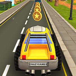Cartoon Hot Racer 3D - Горячий Гонщик 3Д