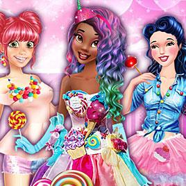 Принцессы Диснея: Сладкая Вечеринка